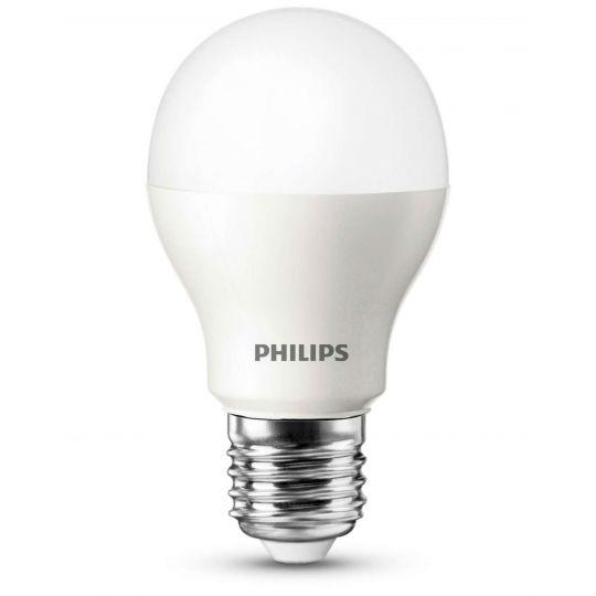 Bec LED 6W, A60, E27, lumina calda 2700K, Philips