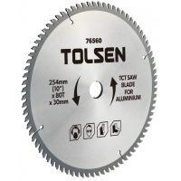 Disc vidia circular 254x30/25.4/16, Z80 aluminiu Tolsen