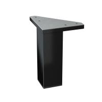 Picioare de mobila universale negru Cersanit (4 buc)