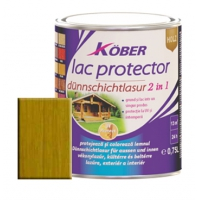 Lac protector 2 in 1 stejar inchis 2.5 l Kober