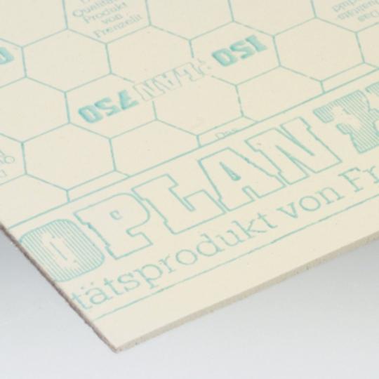 Placa termoizolanta non-azbest Isoplan 750C-3x1000x1000 mm