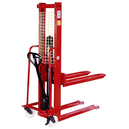 Transpalet ridicare manuala 1000 kg, inaltime 1.6 m KT