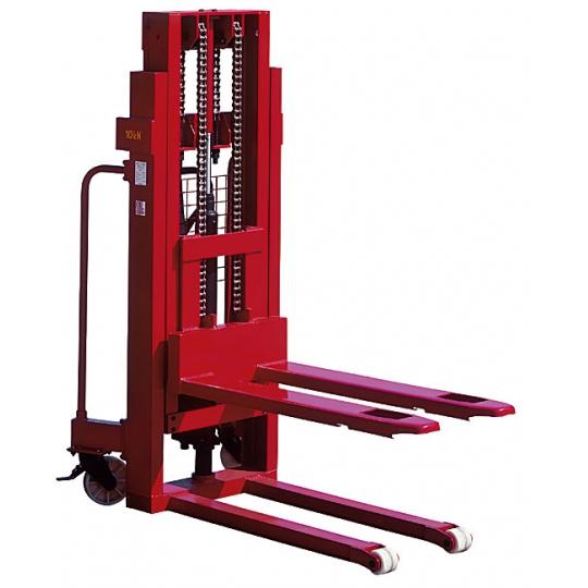 Transpalet ridicare manuala 1000 kg, inaltime 3 m KT