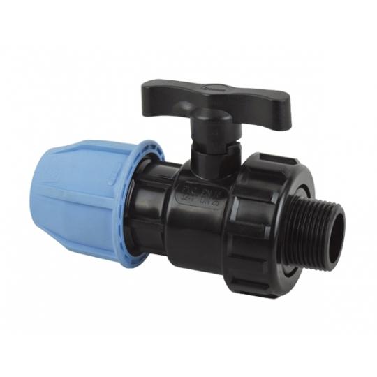 Robinet PEHD cu adaptor 32-1 FE