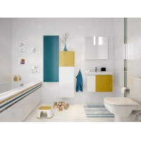 Vas WC suspendat Colour Cersanit (fara capac)