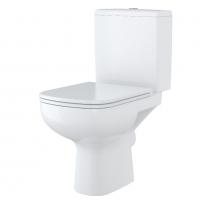 Vas WC 366 set compact alimentare apa inferioara Colour Cersanit (capac separat)