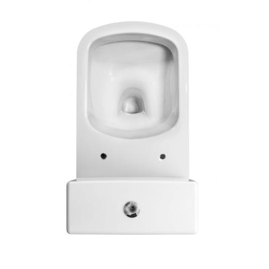 Vas WC 381 set compact alimentare apa laterala Colour Cersanit (capac cadere lenta inclus)