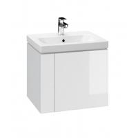 Dulap de baie alb Cersanit Colour pentru lavoar COLOUR/CITY/COMO/FARE/ONTARIO 50