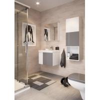 Dulap de baie alb Cersanit Colour pentru lavoar COLOUR/CITY/COMO/ONTARIO 50