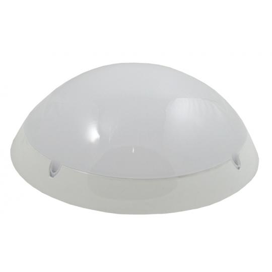 Plafoniera IP65, 1xE27, max 100W Nem Oval Alb Opac