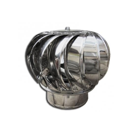 Terminal rotativ, inox, diametru 300 mm