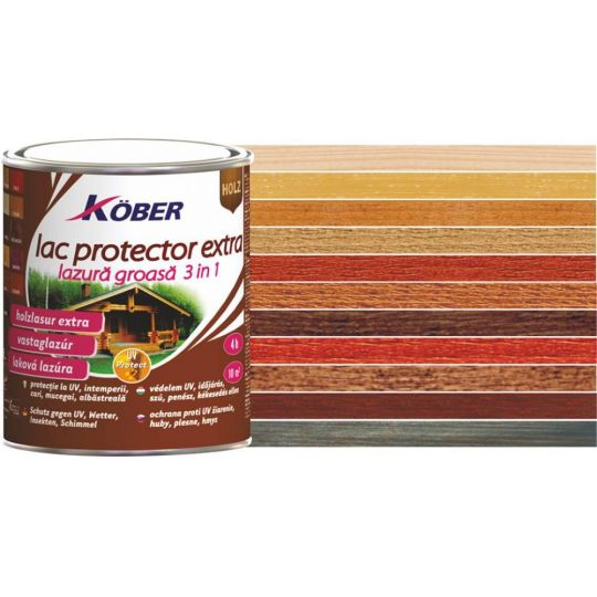 Lac protector Extra 3 in 1 incolor 10 l Kober