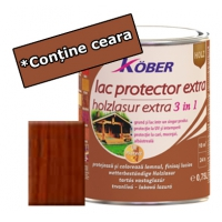 Lac protector Extra 3 in 1 teak 10 l Kober