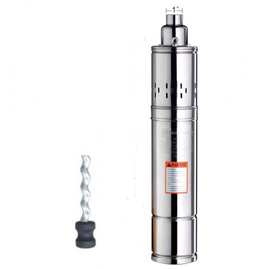 Pompa submersibila cu snec Everpro BAR-4QGD100, 750W, inaltime 150 m, 14 bar