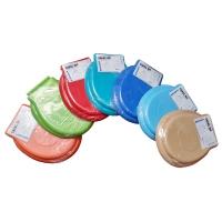 1 x Capac WC polipropilen Apple - diverse culori (Culoare: Alb)
