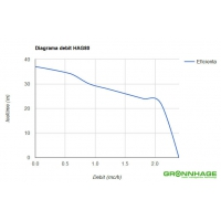 Hidrofor GRONNHAGE HAG 80/22L, 800W, vas 22 litri