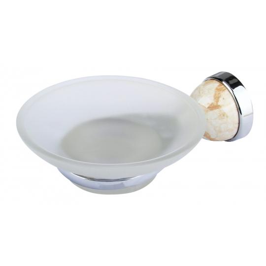Port sapun din sticla Marmorat