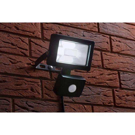 Proiector cu LED SMD si senzor Meister 10W, lumina rece, IP44 , Clasa A++