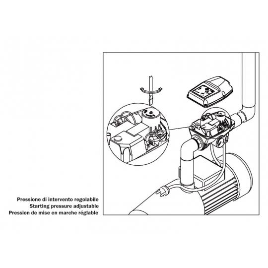 Prescontrol 10 bar protectie lipsa apa Brio 2000-M