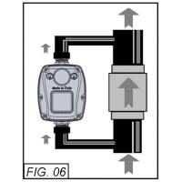 Prescontrol 10 bar protectie lipsa apa si lovituri de berbec, pentru pompe submersibile Brio Tank