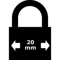Mini lacat cu protectie GS 20 mm