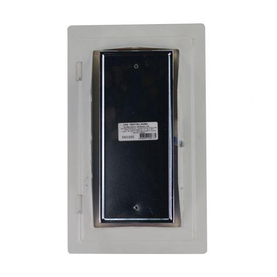 Usa pentru cos fum 260x130 mm Alb/Maro