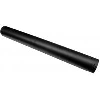 Burlan semineu emailat negru mat 130 mm - 0.9 ml