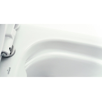 Set 481 vas WC compact alimentare laterala Carina Clean On Cersanit + capac duroplast Carina