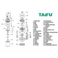 Pompa submersibila Taifu QDX, 1500W, inaltime 18 m, 1.7 bar, inox