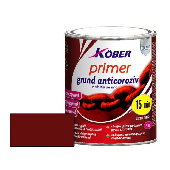 Grund anticoroziv rosu oxid Primer 20 kg Kober