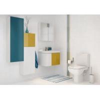 Dulap de baie alb Cersanit Colour pentru lavoar Amao/Zuro/Como 80