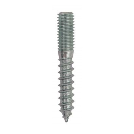 Prezon lemn-metal tip N, M8x60, L35/M20 - 150 buc