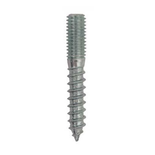 Prezon lemn-metal tip N, M6x120, L50/M50 - 100 buc