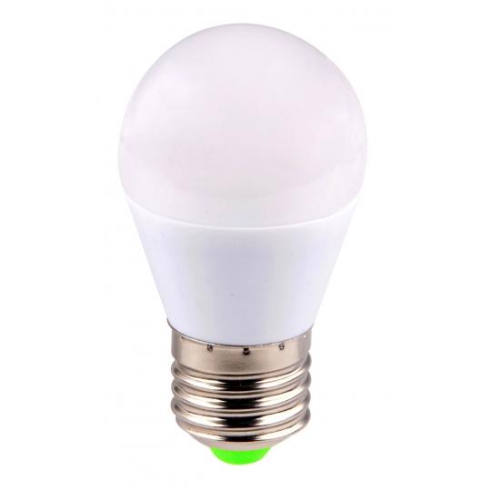 Bec LED sferic EVO15, G45/6W/E27 T&G, lumina rece