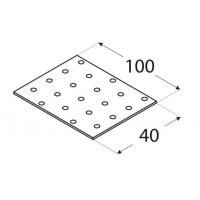 Placa perforata tip 1 40x100x2,0 mm Everpro
