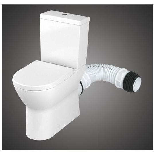 Racord WC profesional Texo 35 cm