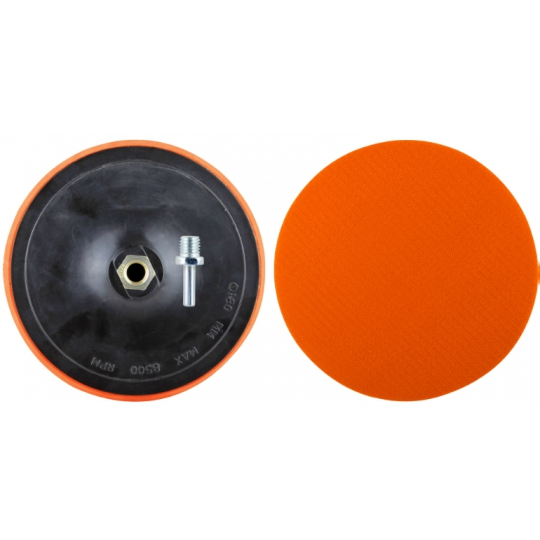 Suport velcro disc abraziv bormasina si polizor 150 mm EVO