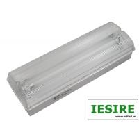 Lampa EXIT cu acumulator IP65, 2x8W Total Green, indicator iesire