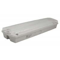 Lampa EXIT cu LED IP65, 27x0.1W Total Green, indicator anti panica