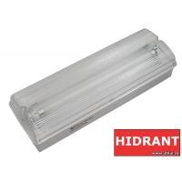 Lampa EXIT cu acumulator IP65, 2x8W Total Green, indicator hidrant