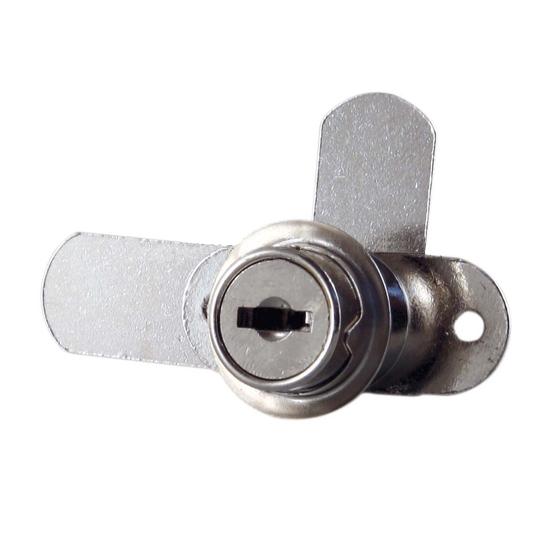 Incuietoare sertar usi duble cama si cilindru 16.5x20 mm L27/L42