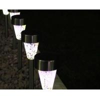 Lampa gradina solara, inox, Mosaic, LED ALB, IP44, H36 Erste