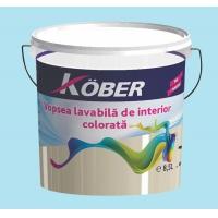 Vopsea lavabila gata colorata Azuriu 8.5 l Kober