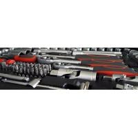 Trusa tubulare si combinate 216 buc, Meister, 1/4, 3/8 & 1/2, 3.5-32 mm, Cr-V