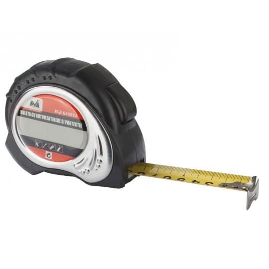Ruleta cu Automentinere si Protectie 7.5 m, Evo Pro