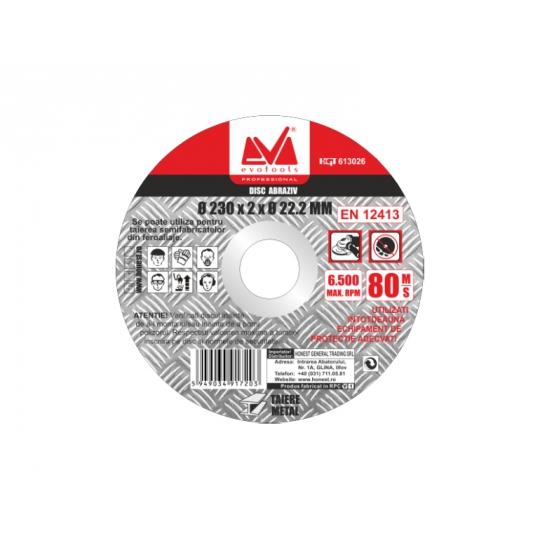 Disc Abraziv 230 x 2 x 22.2 mm, Evo Pro