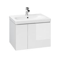 1 x Dulap de baie alb Cersanit Colour pentru lavoar Colour / Amao / City / Como / Nature / Zuro / Ontario 60