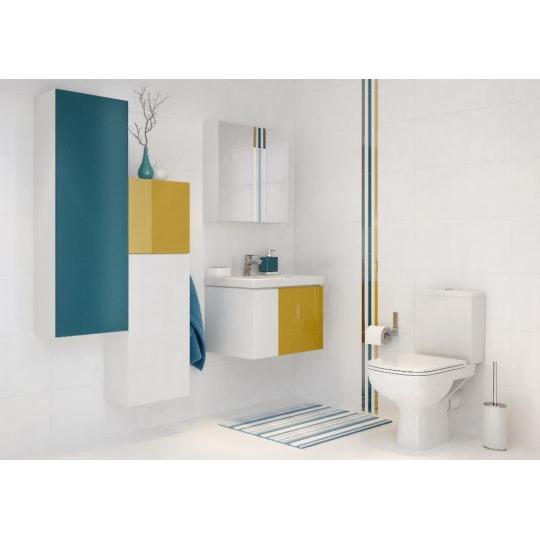 Dulap de baie alb Cersanit Colour pentru lavoar Colour / Amao / City / Como / Fare / Nature / Zuro / Ontario 60