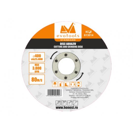 Disc Abraziv 400 x 4 x 32 mm, Evo Standard