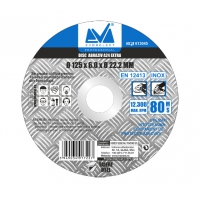 Disc Abraziv Extra A24 125 x 6 x 22.2 mm, Evo Industrial